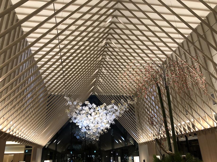 「空気の器」インスタレーション 2020-2021@SORANO HOTEL(ソラノホテル)ラウンジ