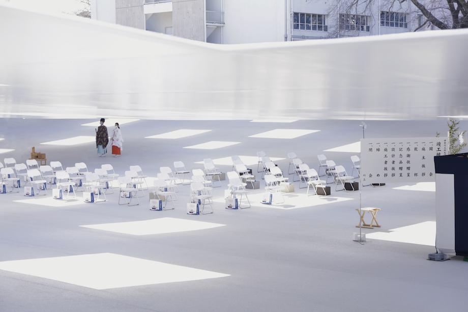 神奈川工科大学〈KAIT広場〉設計:石上純也建築設計事務所