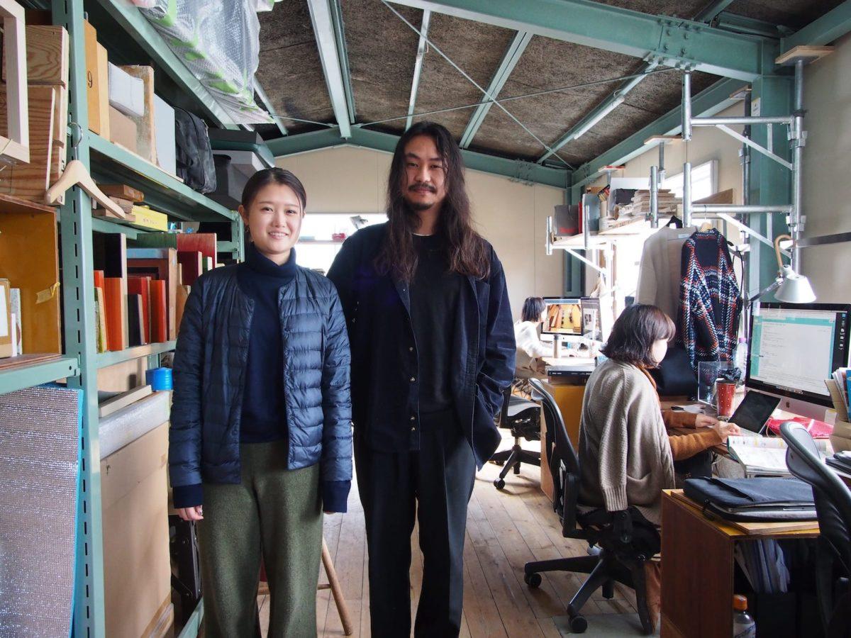 大澤さな子氏(左)と佐藤翔一氏(右)
