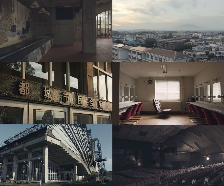 菊竹清訓設計〈旧都城市民会館〉記録映像より(製作:都城市+日本建築学会)