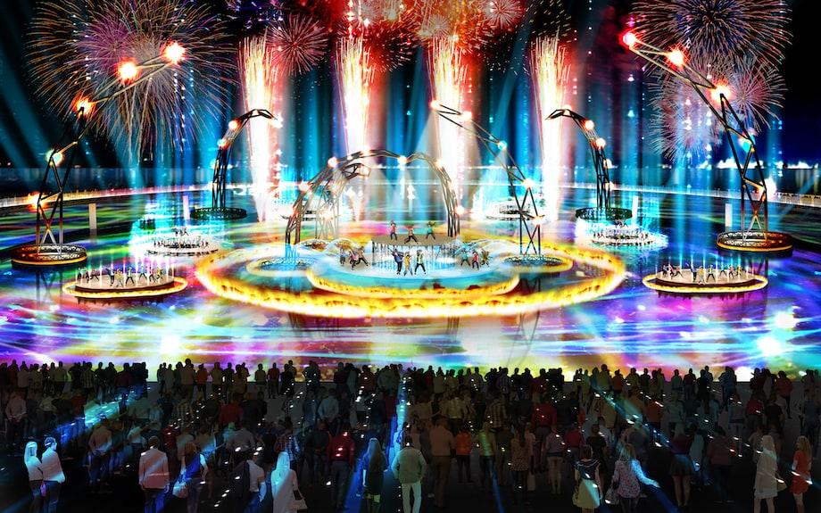 2025年日本国際博覧会(大阪・関西万博)会場 夢島 イメージ