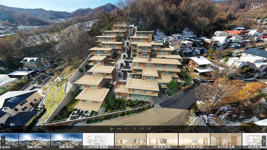 隈研吾設計監修「プロスタイル札幌 宮の森」イメージ