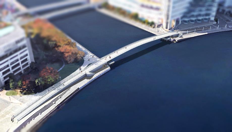 横浜MM21エリア「女神橋」
