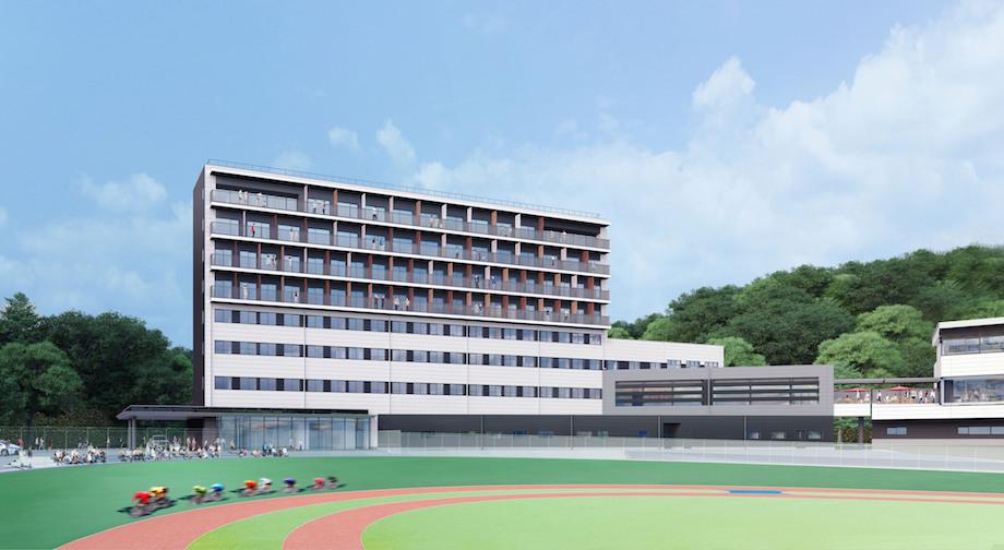 温故知新 / 岡山県玉野市競輪場一体型ホテル〈KEIRIN HOTEL 10〉