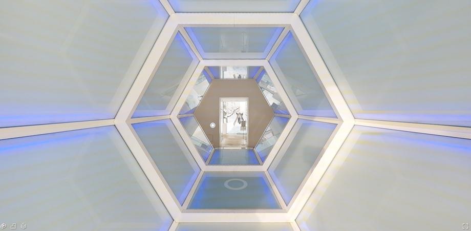 「ARTLOGUE VR」イメージ(十和田市現代美術館)