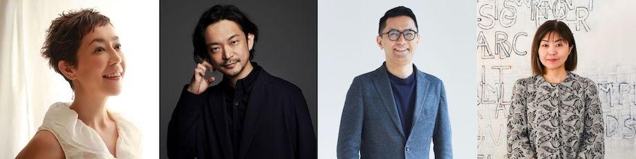 寺田倉庫主催トークセッション「#03アーティストとテクノロジー」登壇者の顔ぶれ