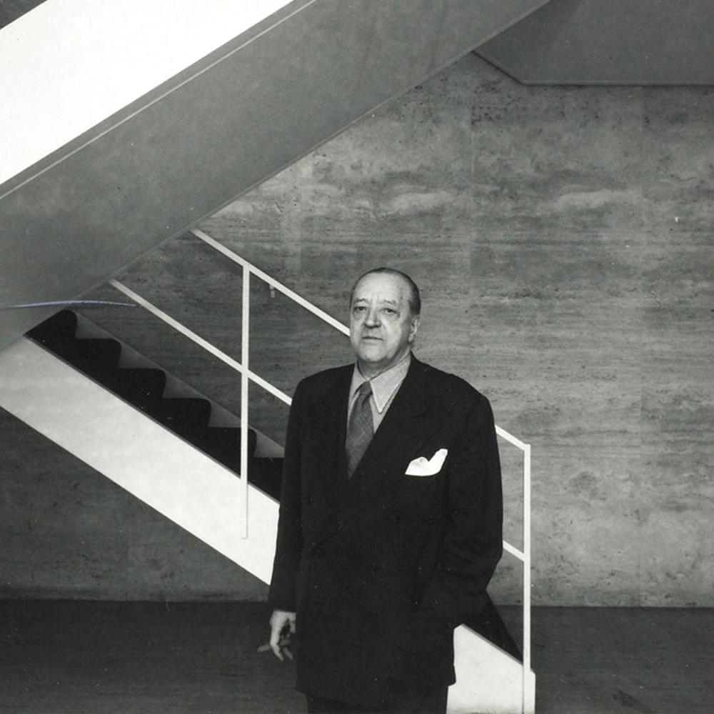 ミース・ファン・デル・ローエ(Ludwig Mies van der Rohe、1886-1969)