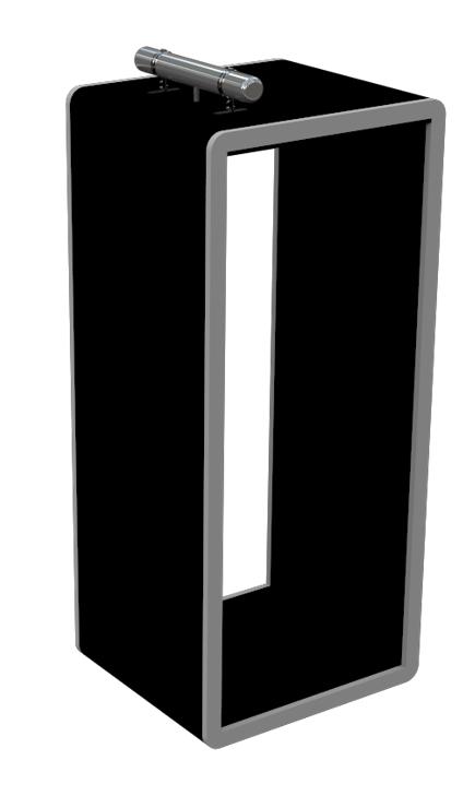 モリタ宮田工業 可動式ブース向け自動消火装置〈霧筒(kiritutu / きりつつ)〉