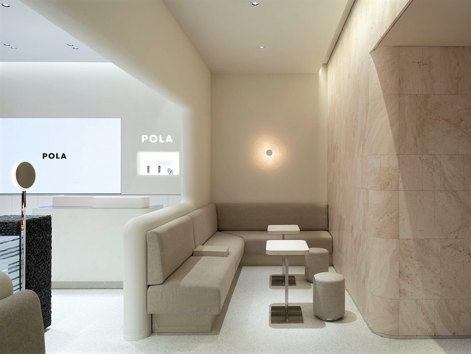 POLA(ポーラ)中国国内コンセプトショップ(空間デザイン:小大建築設計事務所|kooo architects)