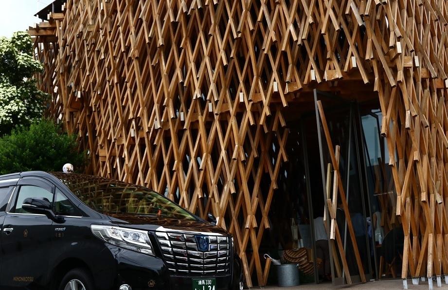 ザ・キャピトルホテル 東急「隈研吾建築タクシーツアー付き宿泊プラン」イメージ