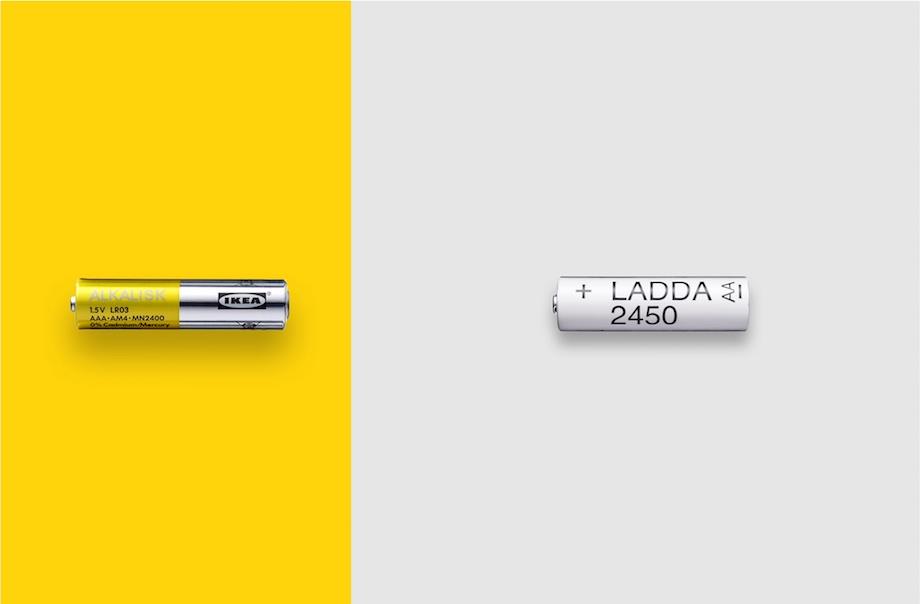 イケア(IKEA)サステナブル戦略 使い捨て電池販売中止