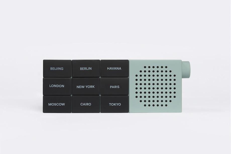 Palomar(パロマー)社製Bluetoothスピーカー「THE CITY RADIO(ザ・シティラジオ)」