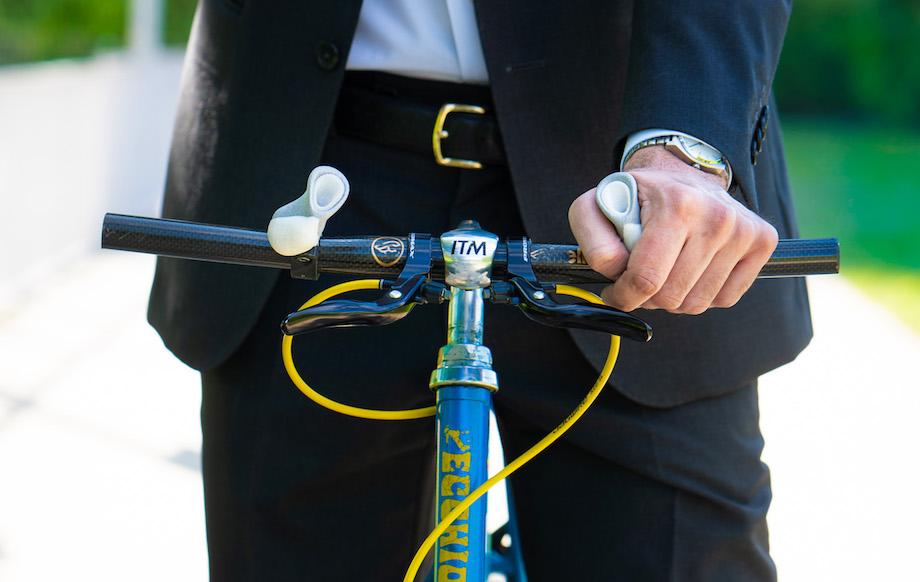 スイスデザイン 自転車ハンドル〈SPIRGRIPS+(スピアグリップスプラス)〉