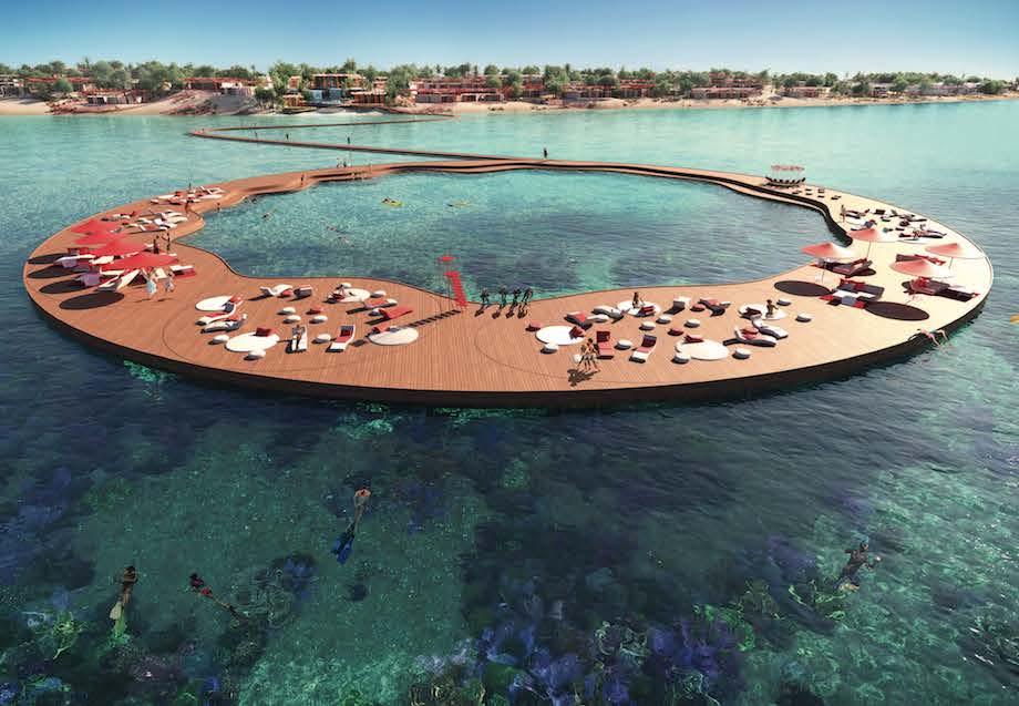 フォスター+パートナーズ「コーラル・ブルーム」プロジェクト(サウジアラビア 紅海)