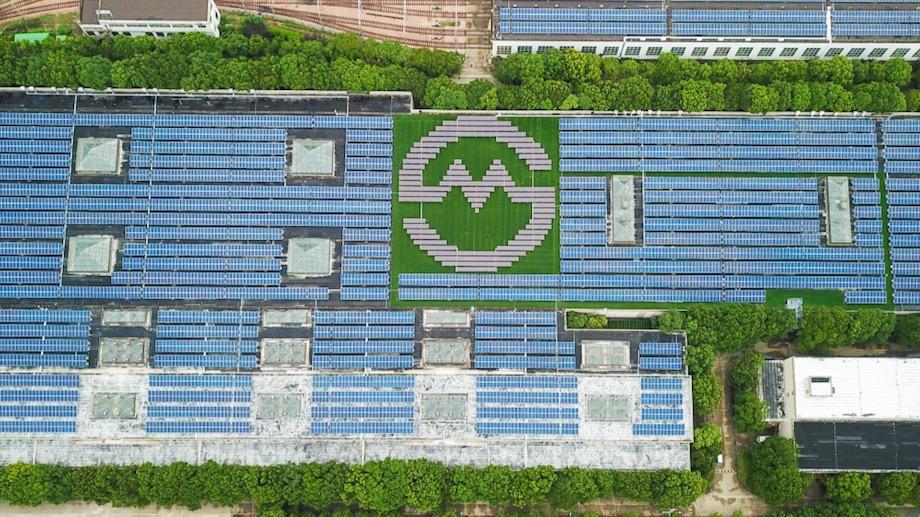 ファーウェイ(HUAWEI)上海地下鉄太陽光発電プロジェクト