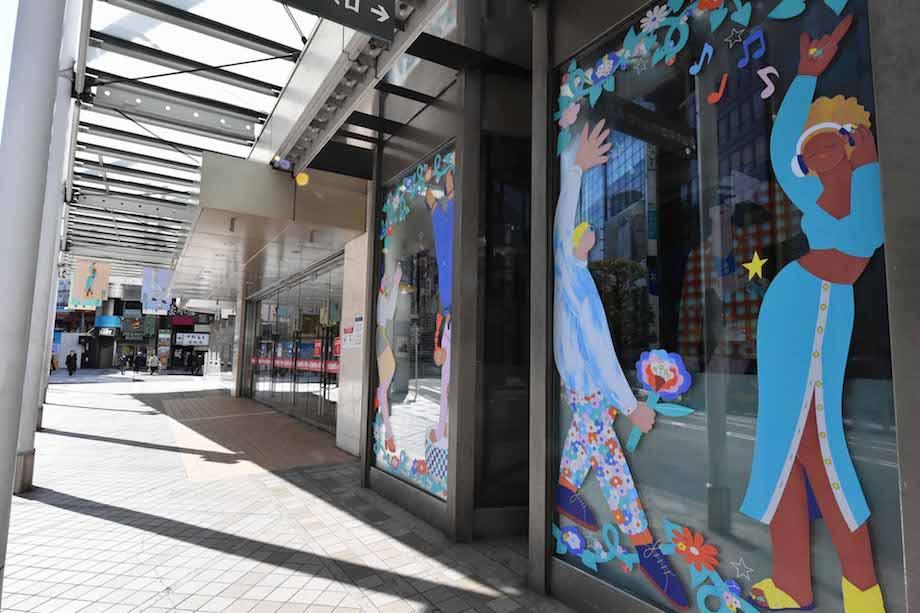 渋谷ファッションウイーク2021春 / 分散回遊型イベント FASHIONART(ファッショナート)展示