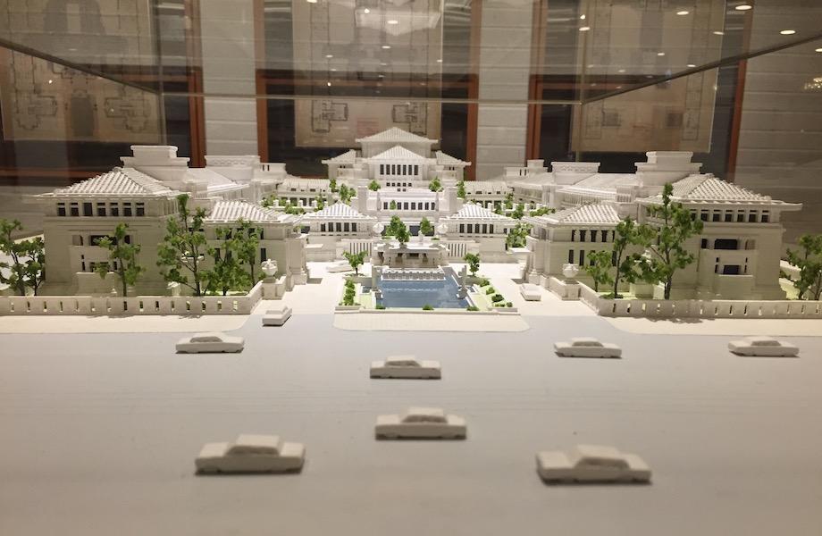 フランク・ロイド・ライト設計 旧帝国ホテル 模型