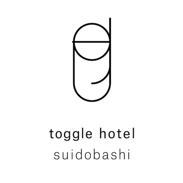 〈toggle hotel suidobashi(トグルホテル 水道橋)〉ロゴ