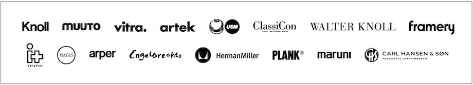 インターオフィス サブスクリプションサービス「Fittingbox」取り扱いブランド
