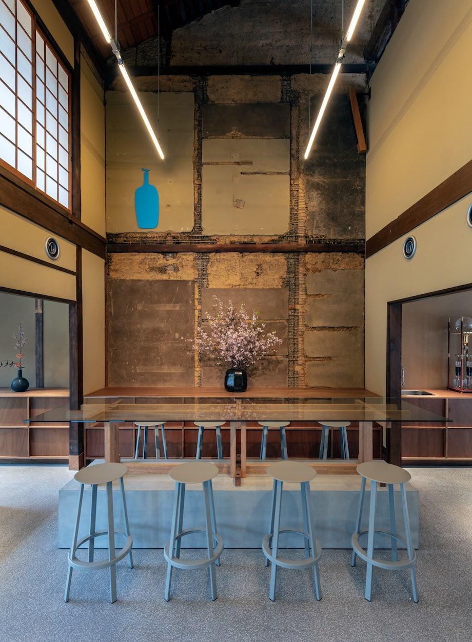 ブルーボトルコーヒー京都カフェ はなれ 1階