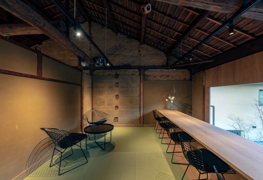 ブルーボトルコーヒー京都カフェ はなれ 2階(予約制フロア)「The Lounge -Kyoto-」