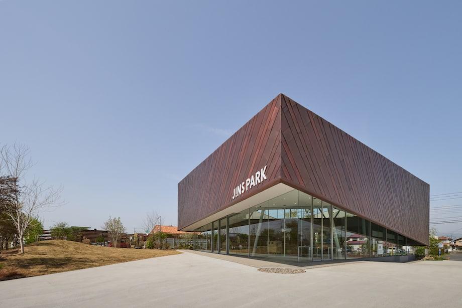 永山祐子建築設計〈JINS PARK〉内ベーカリー&カフェ