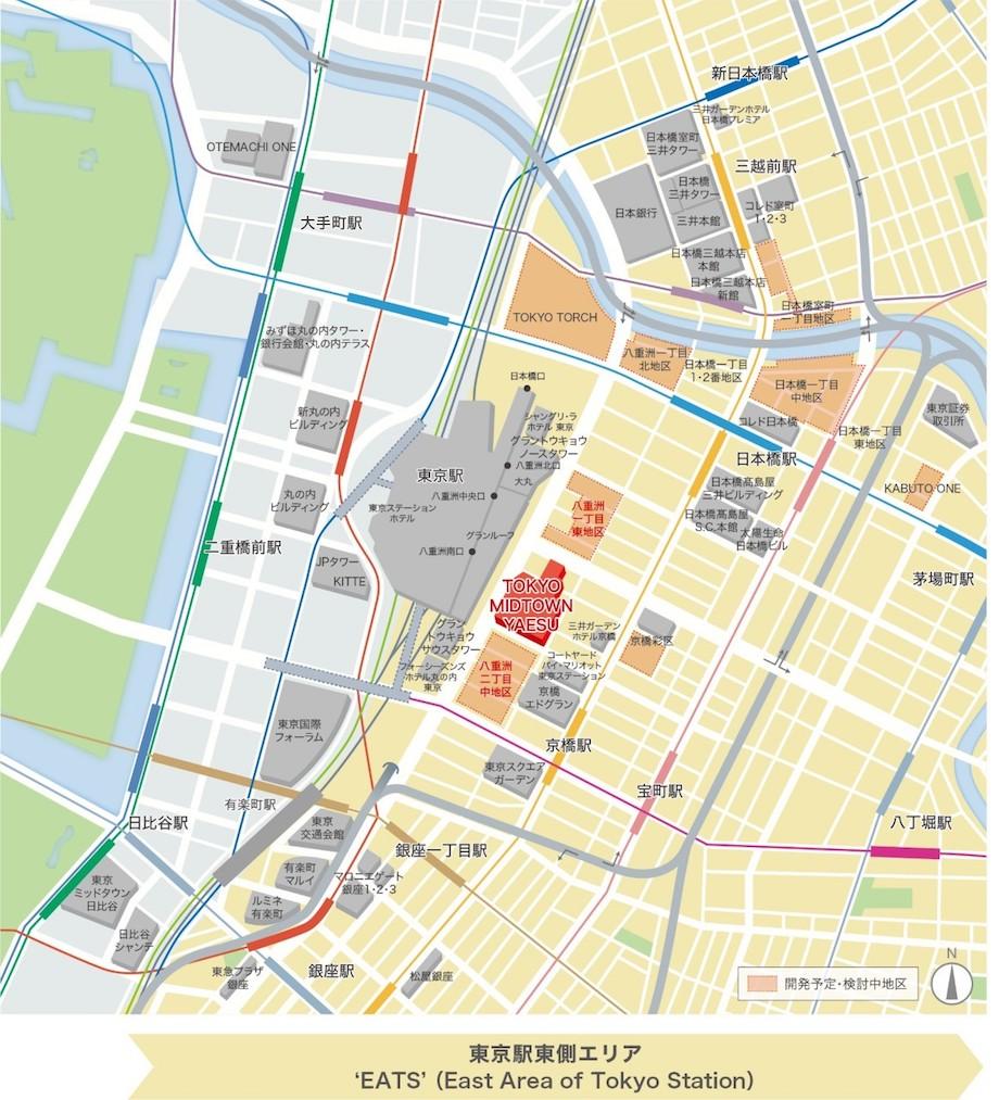 東京ミッドタウン八重洲 MAP