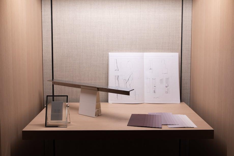 「青木淳展 – The Touch Of Architecture」ロロ・ピアーナ 銀座店