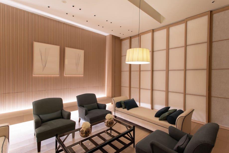 「青木淳展 – The Touch Of Architecture」ロロ・ピアーナ 銀座店 会場 4階VIPルーム