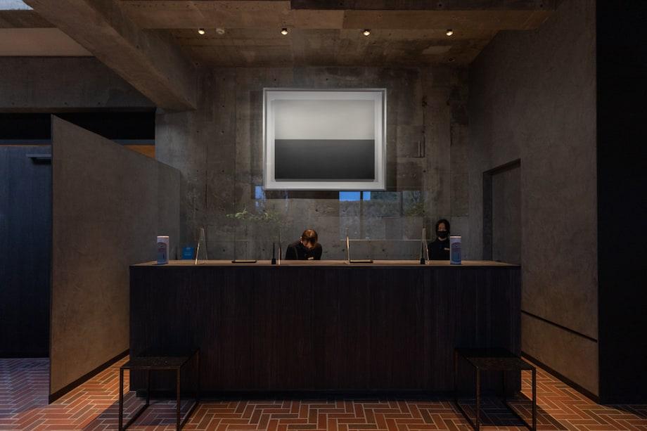 白井屋ホテル レセプション