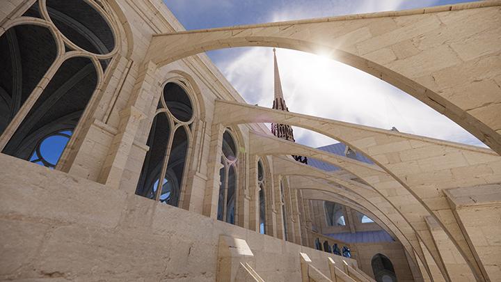 ノートルダム大聖堂 ノートルダム大聖堂 3D モデル