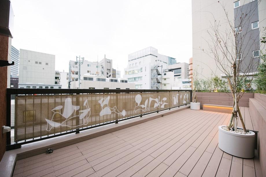 神田錦町〈神田ポートビル〉屋上テラス
