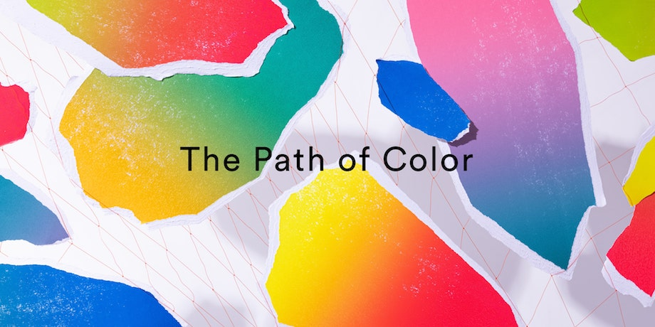 SPREADインスタレーション「The Path of Color」