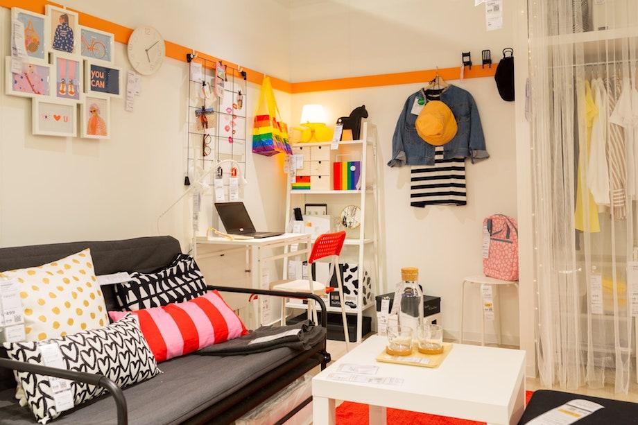 〈IKEA(イケア)新宿〉