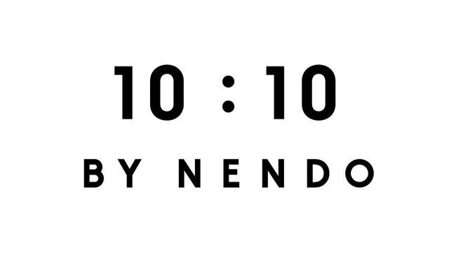 「10:10 BY NENDO(テンバイテン バイ ネンド)」ロゴマーク