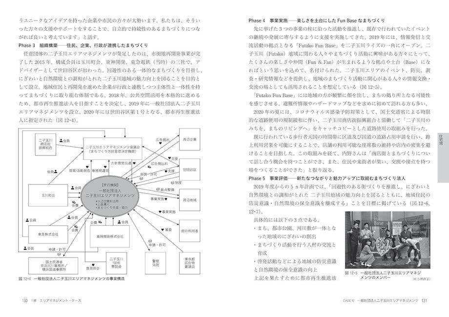 『エリアマネジメント・ケースメソッド: 官民連携による地域経営の教科書』中面