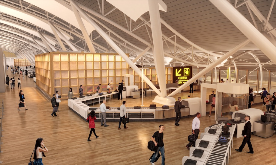 関西国際空港T1ビル リノベーション完成イメージ