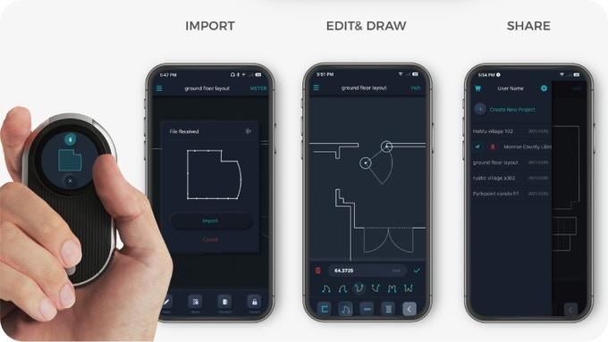 KickstarterNavi(キックスターターナビ)レーザー計測器「MEAZOR(メザー)」