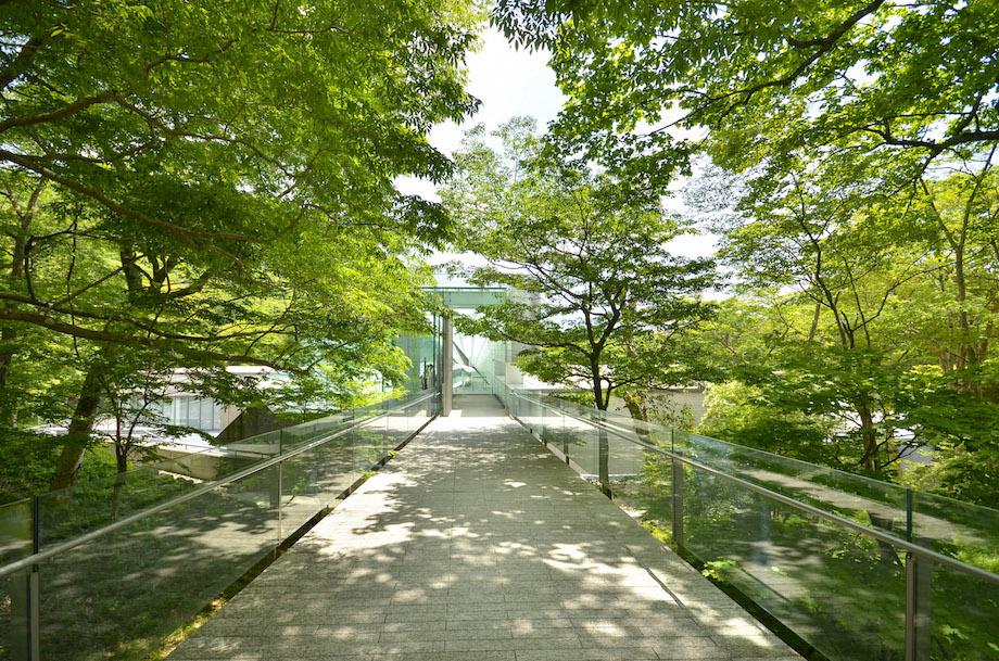 箱根 ポーラ美術館 外観・アプローチ