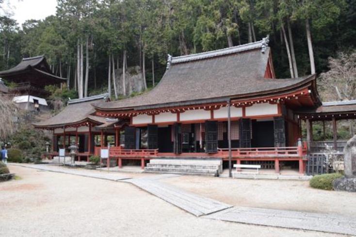 〈長命寺〉外観 写真提供:滋賀県文化財保護課