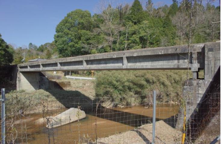 〈第1大戸川橋梁〉外観 写真提供:滋賀県文化財保護課