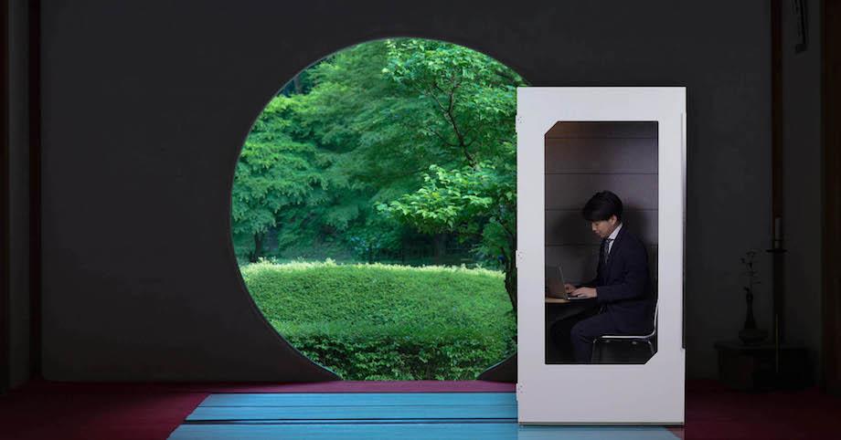 YADOKARI×VIDA 低価格防音オフィスブース〈Phone Box〉