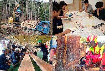 高知県立林業大学校 広報画像