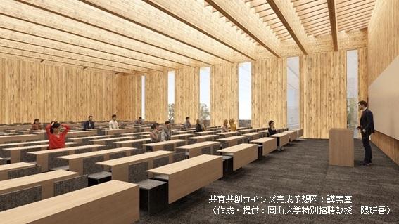 岡山大学 対馬キャンパス内 新交流施設(仮称)イメージ