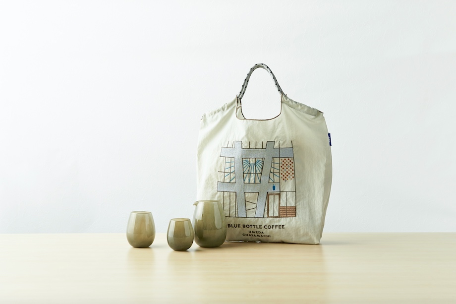 ブルーボトルコーヒー 梅田茶屋町カフェ 限定アイテム