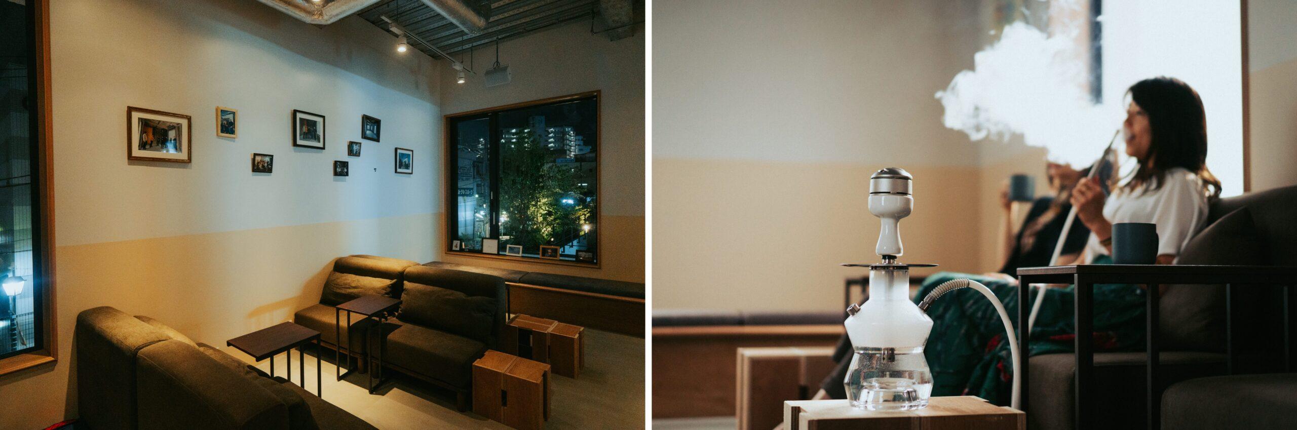 """下北線路街〈reload〉テナント Shisha Cafe """"chotto"""""""