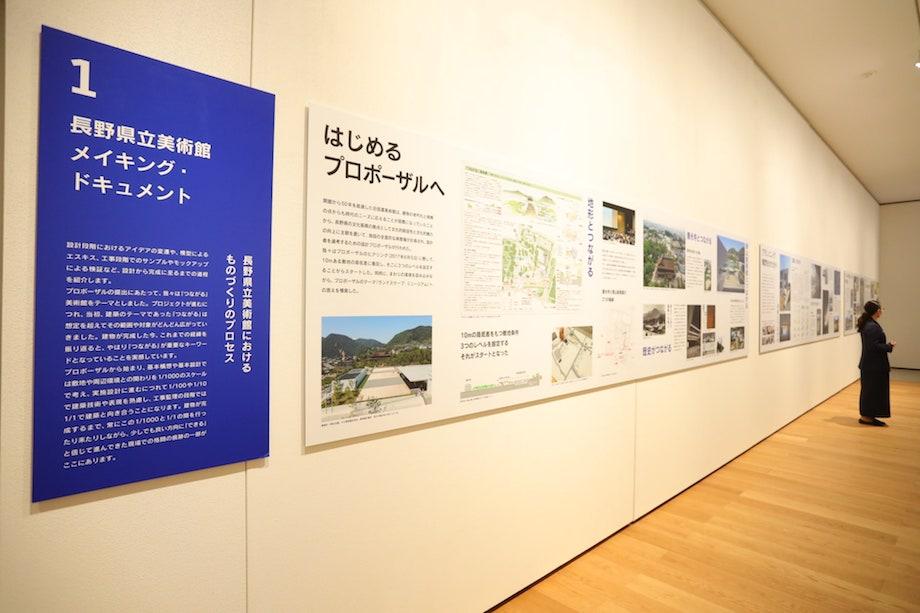 長野県立美術館 企画展 会場風景