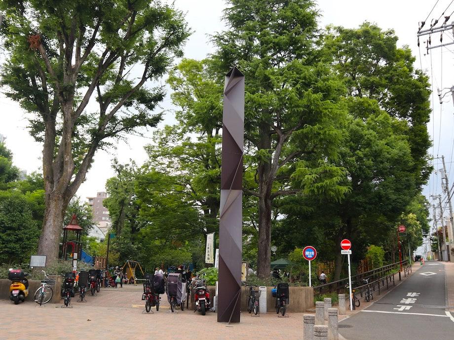隈研吾デザイン 渋谷区鍋島松濤公園公共トイレ〈森のコミチ〉