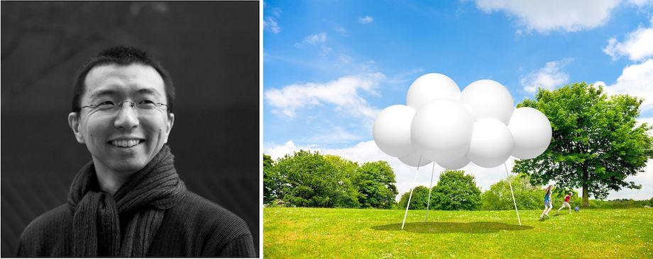 「パビリオン・トウキョウ2021」Cloud pavilion(雲のパビリオン)
