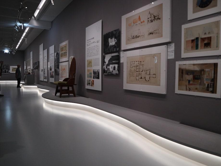 パナソニック汐留美術館「サーリネンとフィンランドの美しい建築展」会場